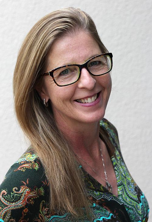 Foto von Ulla Mathieu. Sie ist Inhaberin der Pilates-BOX